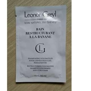 Leonor Greyl Bain Restructurant A La Banane(Shampoo For Permed And Curly Hair) 蛋白修護洗髮露 16ml