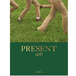 [PO] EXO - PRESENT ; gift Photobook