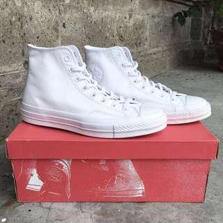 Converse CTAS 70s / 1970s Hi Monowhite Leather (Original 100%)