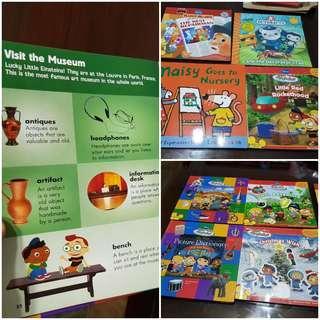 Children Books. Little Einstein ,encyclopedia , octonauts,handy Mandy, maisy,