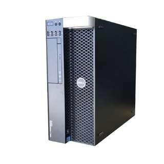 Dell Precision T5610 workstation /2x 8-Core CPU E5-2650L #1.80Ghz/64GB DDR3/500GB SSD /AMD FirePro 5900 2GB Graphics /Win 10 Pro/ Regurbished