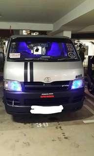 Van LED Lighting Installations (Freelance)