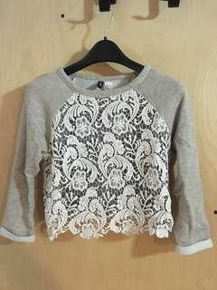 H&M Cropped Blouse