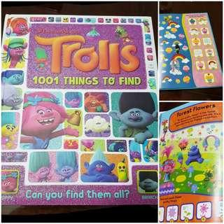 Hardcover children books. Trolls, Disney,Mickey, Sofia, Jake, Bob the builder. Bee