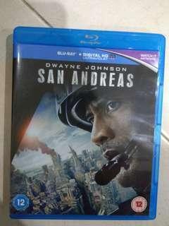 Bluray movie : san andreas