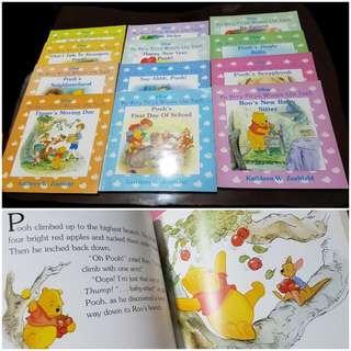 Pooh bear series bundle. 12books.
