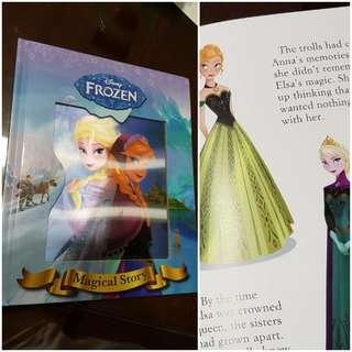 🚚 Frozen English story book