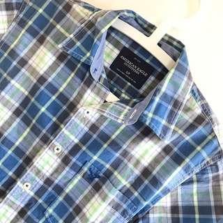 American Eagle shirt 格仔恤衫