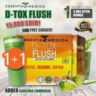 D-Tox Flush (Detox Drink) by Essentia Medica