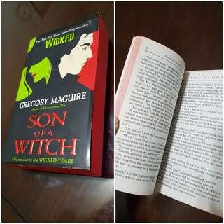 Son of the witch. Sides of book is red (unique)