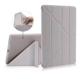 Ipad Grey Origami Case (Silicon)