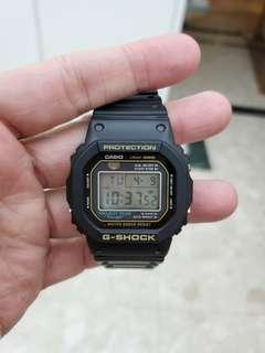 Casio G Shock DW-5035D-1B, 行貨,Made in Japan,拎蓋。35 週年版。只帶數次。