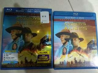 Bluray movie : cowboys vs aliens