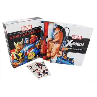 (PO) Marvel Hero Origins Story Collection - 4 Books Slipcase