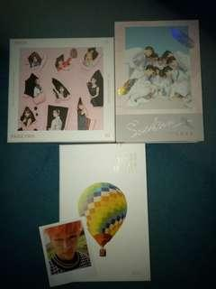 UNSEALED ALBUM CLEARANCE BTS YOUNG FOREVER/TWICE/SEVENTEEN