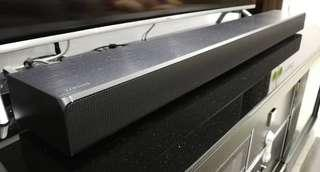 Samsung HW-MS650 with wireless surround speaker