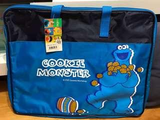 芝麻街 Sesame Street Cookie Monster 畫板袋