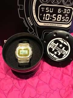 香港行貨Casio G-Shock 35週年限量版透明手錶 anniversary limited edition DW-5035E-7