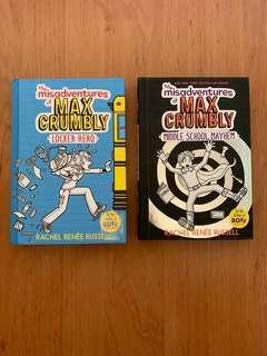 🚚 The Misadventures if Max Crumbly (Hard Cover)