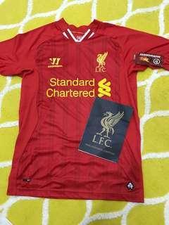 Warrior Liverpool 2013/2014 'Gerrard 8' Home Jersey