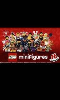 Lego Series 7 Full Set