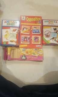 Puzzle buku anak phonics animals