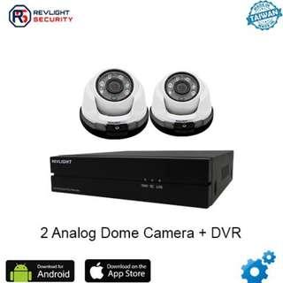 🚚 Analog CCTV HD1080P installation package