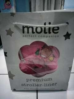 PREMIUM STROLLER LINER- Alas stroller Molie