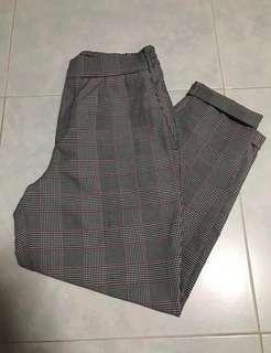 🚚 Pull & Bear checkered pants