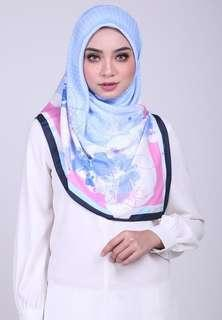 (To Let Go New) Ariani Bawal Novelty Square Series 190 Scarf