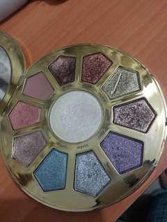 Authentic Tarte Make Believe palette with free liquid eyeliner