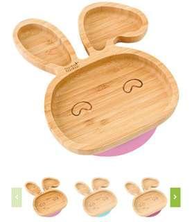 Bamboo Bamboo 餐盤 BLW 必備兔仔款