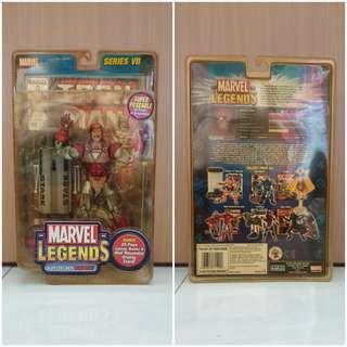 Marvel Legends Series 7 Action Figure Silver Centurion Armor Iron Man