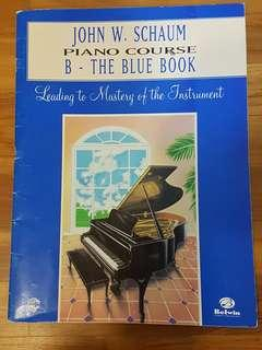 Piano - Beginner John Schaum blue book