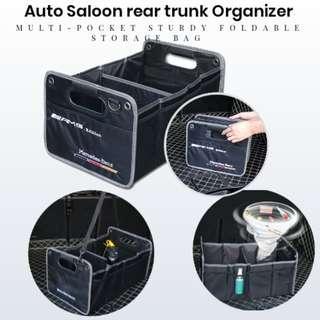 Auto Saloon rear trunk Organizer Multi-Pocket Sturdy Foldable Storage Bag
