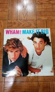 WHAM MAKE IT BIG 黑膠