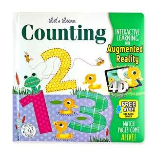 🚚 (PO) Let's Learn Counting 123s - AR Interactive book