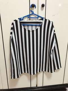 (3 for $12) Striped Blouse