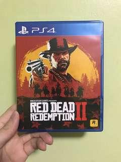 🚚 Red Dead Redemption 2 ps4