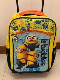 Minion trolley backpack