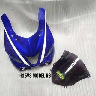 [R15 V3] Headcowl R15 V3 (Model R6)