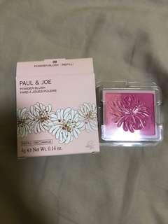New authentic Paul &Joe powder blush 4g