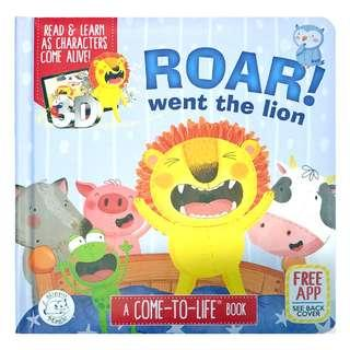 🚚 (PO) Roar! Went the Lion - AR Interactive book