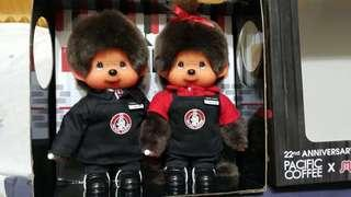 Monchhichi monchichi x Pacific Coffee boxset
