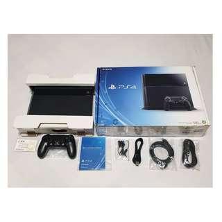 can JB(4.07可破解)PS4原廠盒裝主機