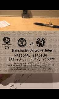 🚚 Manchester United ICC tickets