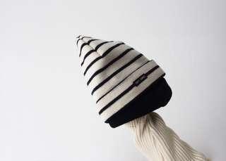 🚚 Saint james條紋毛帽純羊毛