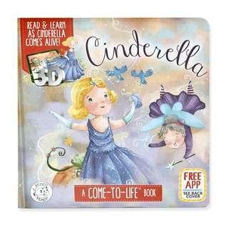 🚚 (PO) Cinderella AR Storybook