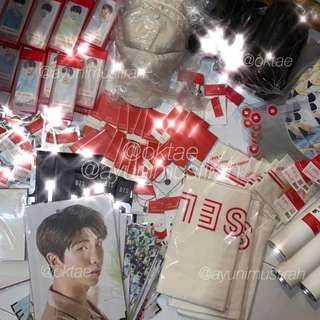 Arrival of LY BTS Official Merch