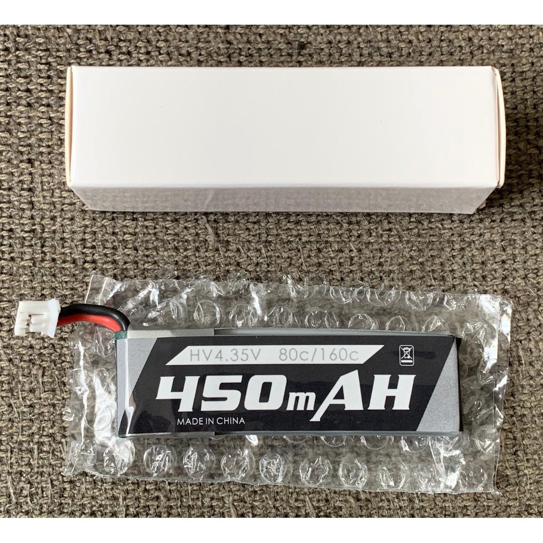 5 Pcs) Emax Tinyhawk 450mAh 1s HV Lipo Battery, Toys & Games